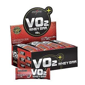 Barra de Proteina INTEGRALMEDICA VO2 Frutas Vermelhas - Caixa 24 UN