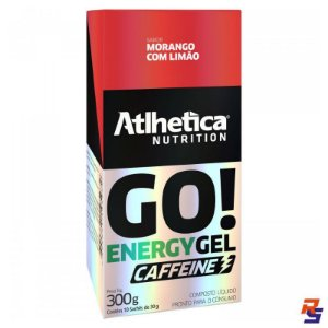 Gel de Carboidrato ATlHETICA NUTRITION Energy Gel - Caixa 10 UN