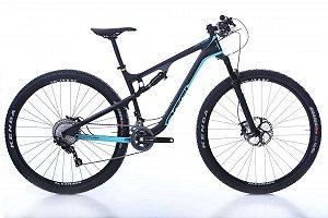 Bicicleta OGGI Cattura Pro XT Aro 29/22 V Preto/Azul- Tam. 17