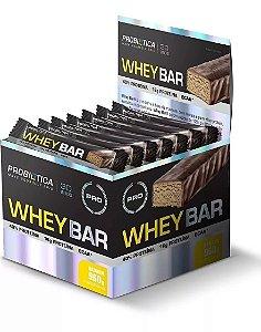 Barra de Proteina PROBIOTICA Whey Bar Banana - UN