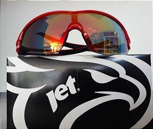 Óculos JET Hornet Vermelho/ Preto
