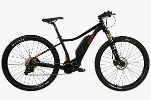 Bicicleta Elétrica REDSTONE Expert 29' Preto/Vermelho - Tam. M