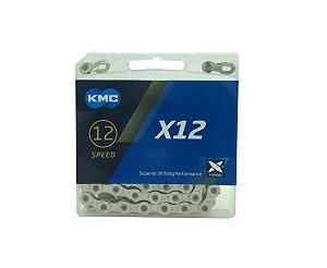 Corrente KMC 12V 1/2x11/128 Elos