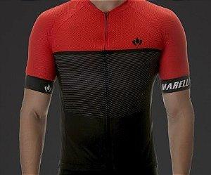 Camisa Marelli Europa Giro Vermelha - Tam. M
