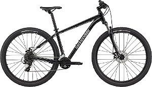 Bicicleta CANNONDALE Trail 8 2021 Aro 29 21V Preto - Tam. M