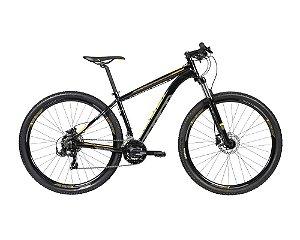 Bicicleta CALOI Explorer Sport 29' 21V Preta/Amarelo - TAM. P