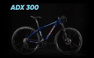 Bicicleta AUDAX ADX 300 2020 Aro 29/18V Azul/Laranja - Tam. 17