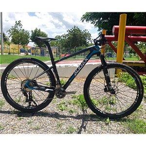 Bicicleta AUDAX Auge 50 Aro 29/ 2x11 Preto/Azul - Tam. 17