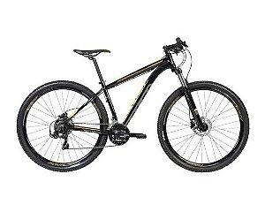Bicicleta CALOI Explorer Sport 29' 21V Preta/Amarelo - TAM. 19