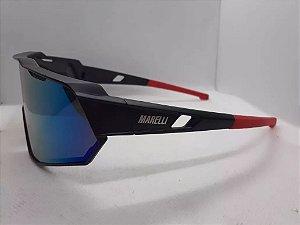 Oculos MARELLI Veloce Preto/Vermelho