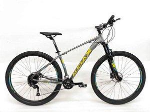 Bicicleta AUDAX Havok NX 2020 Aro 29/ 27V Cinza/Amarelo - Tam. 15