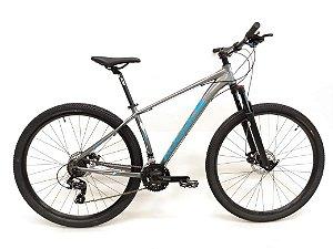 Bicicleta AUDAX Havok SX 2020 Aro 29/ 21V Cinza/Azul - Tam. 17