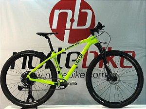 Bicicleta Caloi Aspen Way 1 Verde Neon - Sram SX Eagle 12v