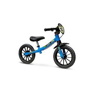 Bicicleta Masculina NATHOR Balance Aro 12 Azul/Preto