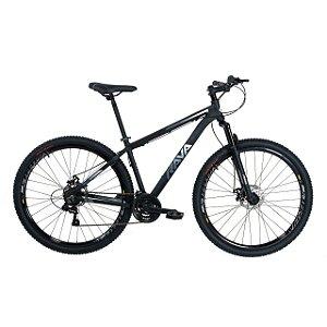 Bicicleta TSW Rava Pressure 21V Preto/Branco - Tam. 19