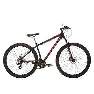 Bicicleta HOUSTON Mercury HT Aro 29 Preto/Vermelho - Tam. 17
