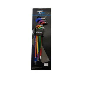 Kit de Chave Allen ADX Colorido