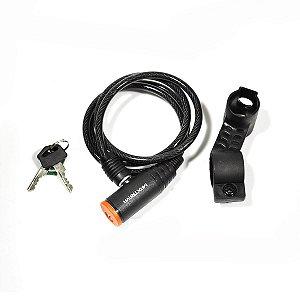 Cadeado MAXTRAVA Espiral com Chave 6X1M - MXTRA0002