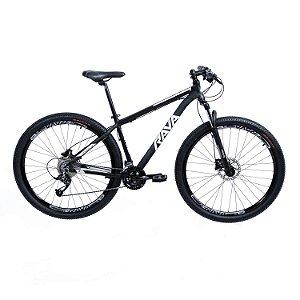 Bicicleta TSW Rava Pressure 27V Preto/Branco - Tam. 15