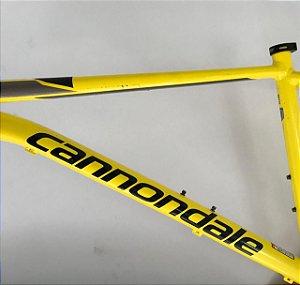 USADO - Quadro Cannondale Trail 6 - Amarelo / Tam. M