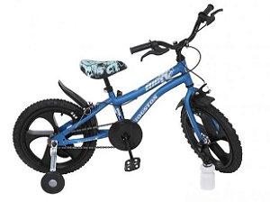 Bicicleta Houston Masculina Aro 16 Azul Fosco