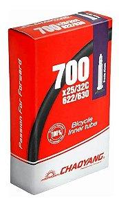 Camara de Ar CHAOAYNG 700X25/32 Valvula Presta 48MM