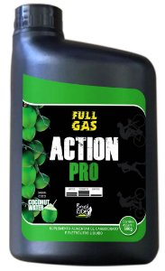 Suplemento FULL GAS Pro Action Agua de coco - (Pote Gel 600G)
