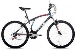 Bicicleta HOUSTON Feminina Aro 26 Atlantis Cinza