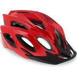 Capacete de Ciclismo SPIUK Rhombus - Vermelho TAM 52-58