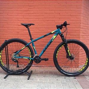 Bicicleta SENSE Fun Evo 2021 Aqua/Amarelo - Tam. M