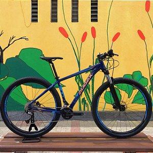 USADO - Bicicleta AUDAX Auge 300 - Azul/Laranja