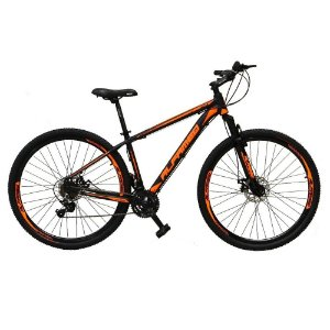 Bicicleta ALFAMEQ ATX Aro 29 21V  Preto/Laranja  - Tam.15