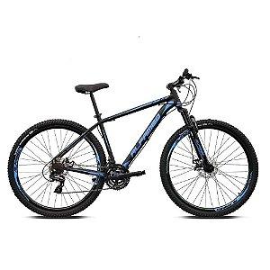 Bicicleta ALFAMEQ ATX Aro 29 21V  Preto/Azul  - Tam.15