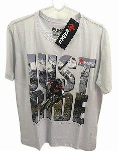 Camisa Casual MARELLI Just Ride Branco Tam - M