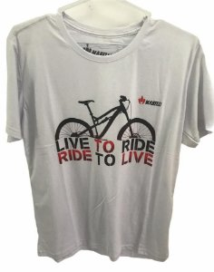 Camisa Casual MARELLI LIVE TO RIDE Branco Tam - GG