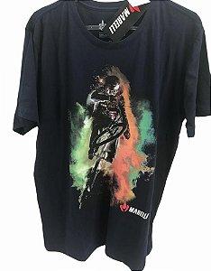 Camisa Casual MARELLI BMX Marinho Tam - P