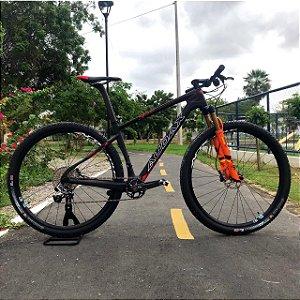 Bicicleta AUDAX AUGE xx1 Aro 29 Preto/Vermelho Tam - 17