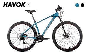 Bicicleta Havok Sx Aro 29 Tam - 17 Verde/azul