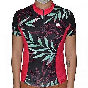 Camisa KANXA Ciclismo Feminino Floral - Tam. M