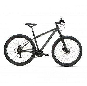Bicicleta RAVA PRESSURE Aro 29 21V Cinza/Preto - Tam. 19