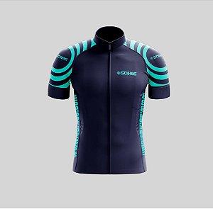 Camisa Ciclismo Azul c/ Azul GG