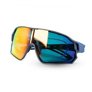 Óculos de Ciclismo ROCKBROS Unissex Azul