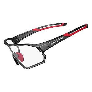 Óculos de Ciclismo ROCKBROS Unissex Preto (+4 Lentes) mod:10135