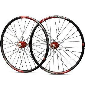 Roda D/T TSW 32F Disc/Rosca XL4300 Preto/Branco/Vermelho
