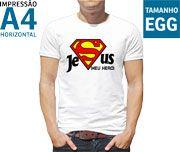 Camisetas MASCULINAS Personalizadas Brancas em poliester - P - M - G - GG - EGG