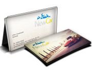 Cartões de Visita Papel Reciclato 250g - 1.000 unid.