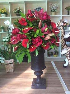 Arranjos com Flores Vermelhas