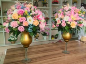 Arranjo de Flores Coloridas modelo 1
