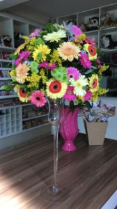 Arranjo de Flores Coloridas modelo 5