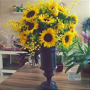 Arranjo de Flores Amarelas modelo 1